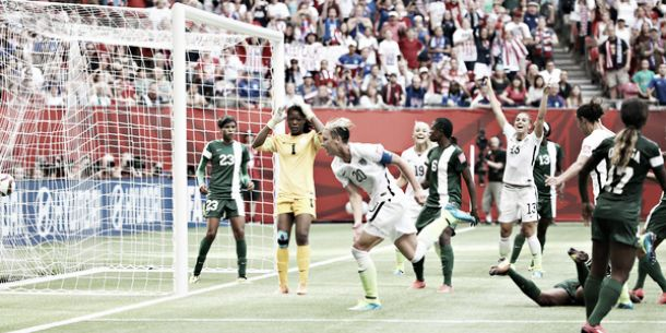 Nigeria 0-1 USA: Favourites clinch top spot with victory over Nigeria