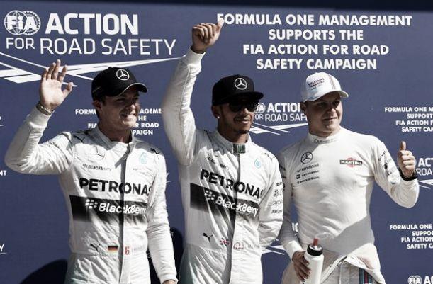 Hamilton volta às pole position em Monza