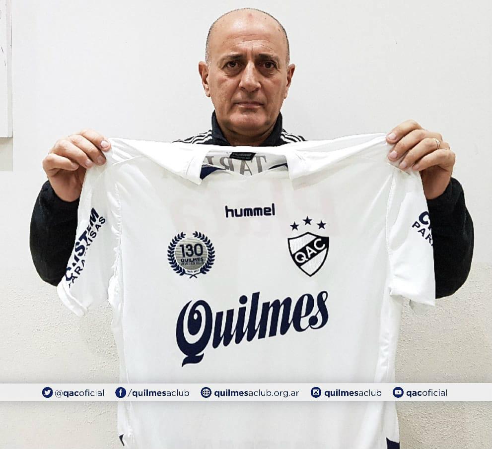 Tras un incidente, Quilmes se quedó sin DT