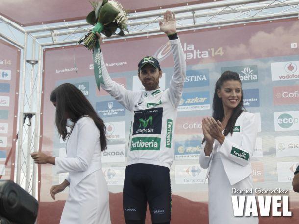 """Alejandro Valverde: """"El podio es un justo premio"""""""