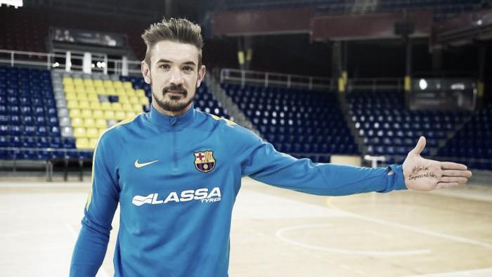 Após nove anos e 13 títulos, goleiro Cristian Dominguez deixa o Barcelona Futsal