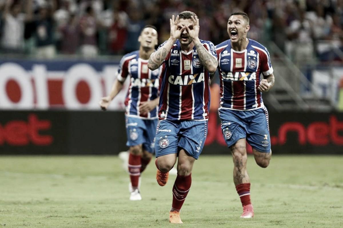 Bahia não dá espaços e goleia Vasco nas oitavas da Copa do Brasil