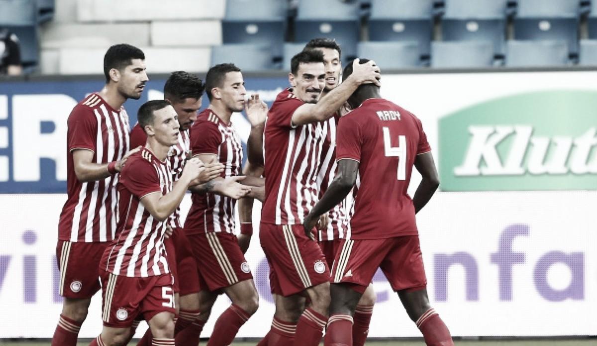 Olympiakos não tira o pé, bate Luzern mesmo com boa vantagem e avança de fase na UEL