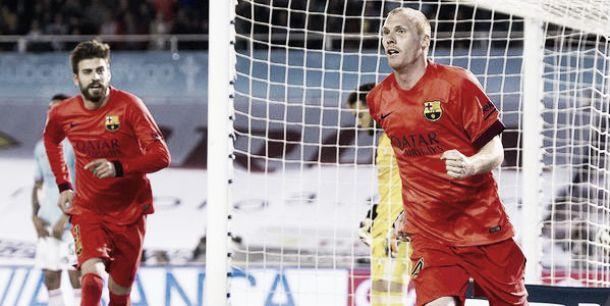 VIDEO - Decide Mathieu, il Barcellona passa a Vigo