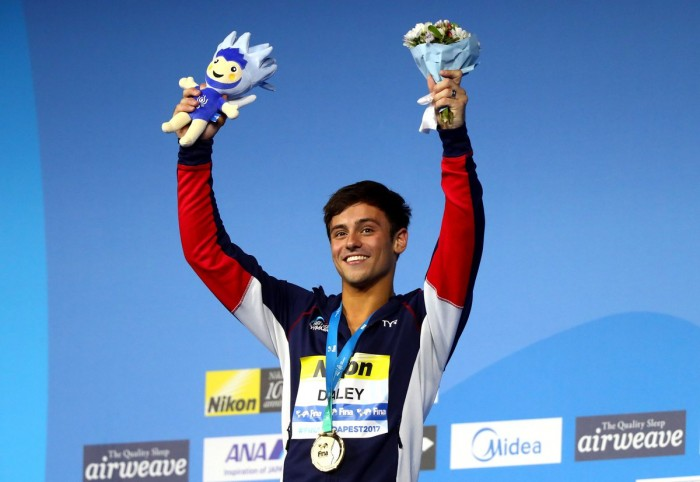 Tom Daley claims World Championship gold in 10m platform