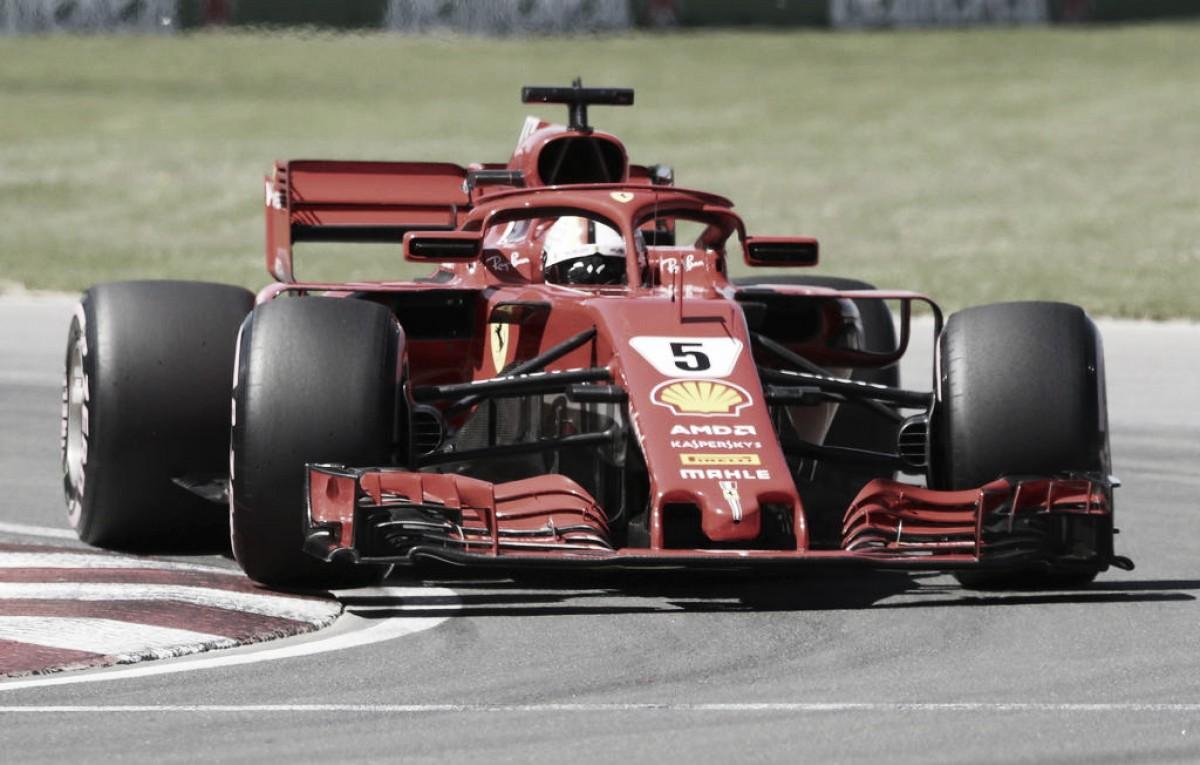 Vettel lidera Canadá y recupera la cima del campeonato