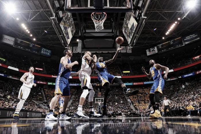 NBA playoffs, i Warriors dilagano contro Utah in gara-4 e chiudono la serie (95-121)