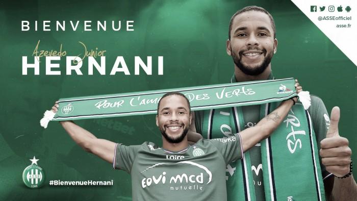 Ex-Atlético-PR, Hernani admite influência de Neymar em sua ida ao Saint-Etiénne