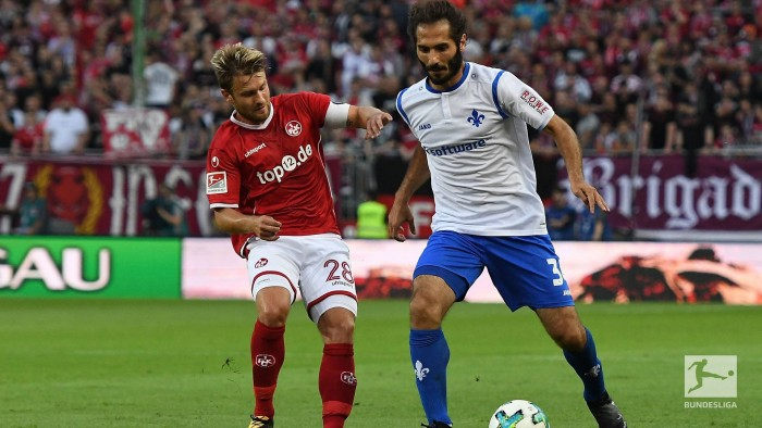 1.FC Kaiserslautern 1-1 SV Darmstadt 98: Southwest rivals share the points