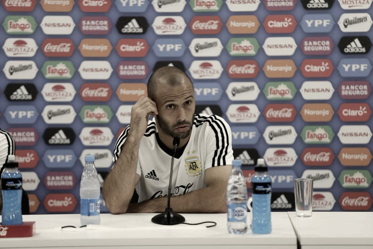 """Javier Mascherano: """"Nosotros somos los primeros responsables"""""""