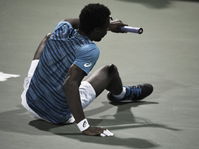 Gael Monfils admits to psychological block against Novak Djokovic