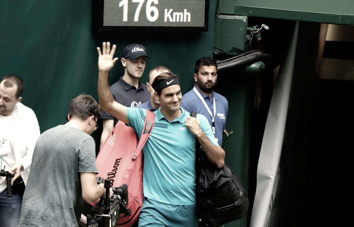 Halle: Federer avanza, Zverev afuera en primera ronda