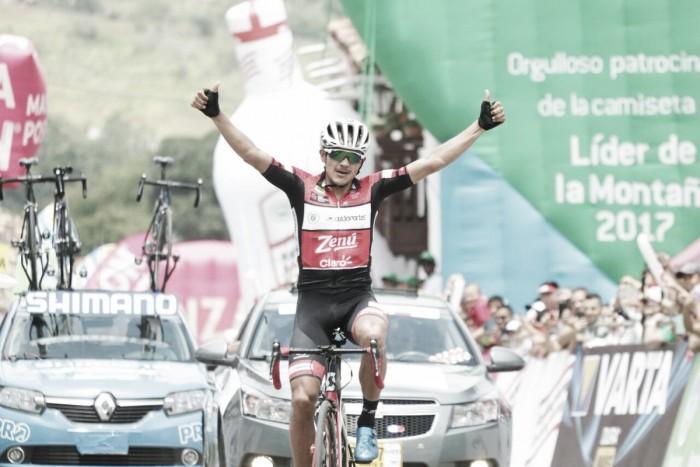 Alex Cano ganó la quinta etapa de la Vuelta a Colombia