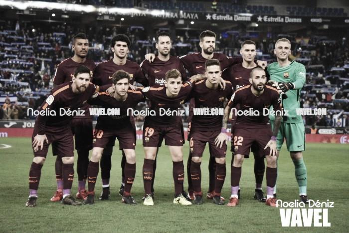 RCD Espanyol – FC Barcelona: puntuaciones del Barcelona, ida cuartos Copa S.M. El Rey