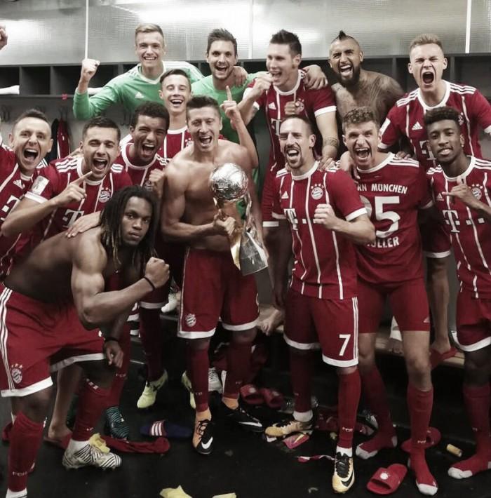 El Bayern de Múnich, campeón de la Supercopa de Alemania