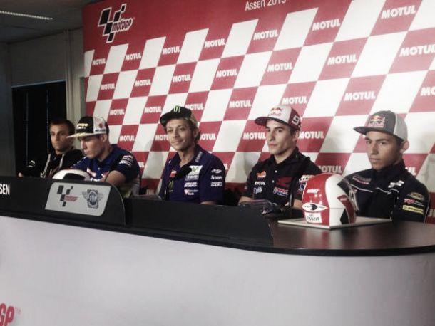 MotoGP: le parole di Rossi, Espargaró e Márquez dopo le qualifiche ad Assen