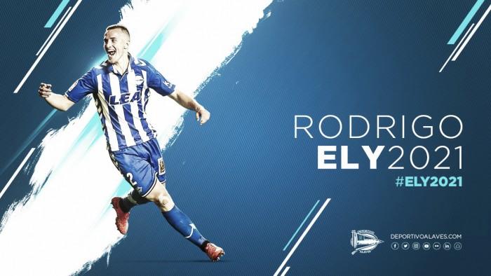 Após bela temporada, Alavés contrata brasileiro Rodrigo Ely em definitivo