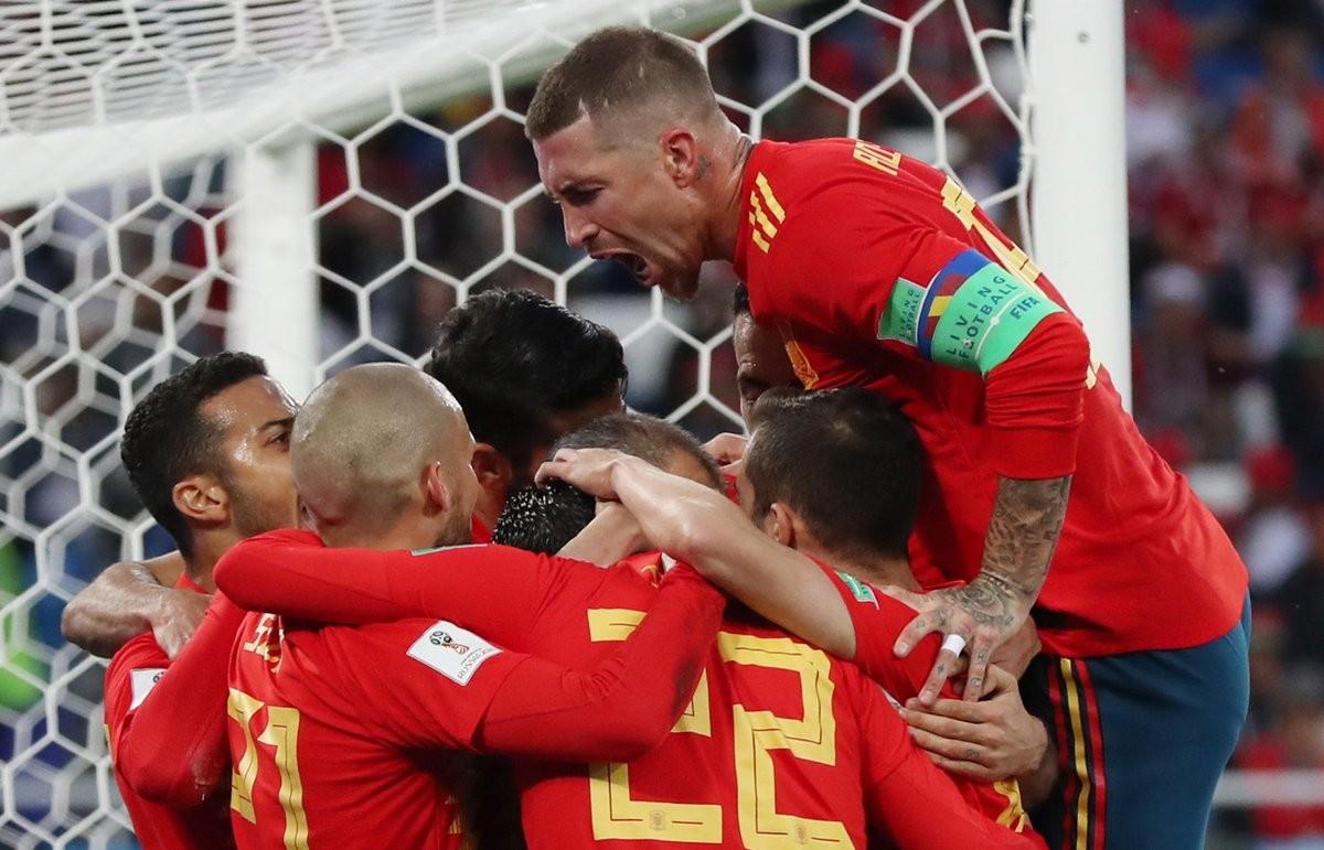 Russia 2018 - La Spagna pareggia 2-2 col Marocco ma chiude al primo posto