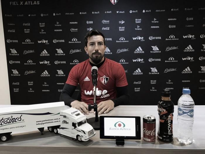 """Miguel Fraga:""""Tenemos tres grandes arqueros en Atlas"""""""