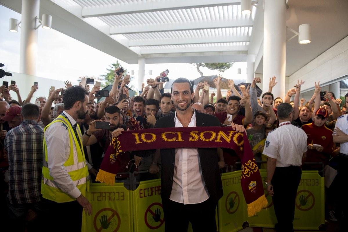 Roma, ecco Javier Pastore: grande soddisfazione per l'arrivo dell'argentino