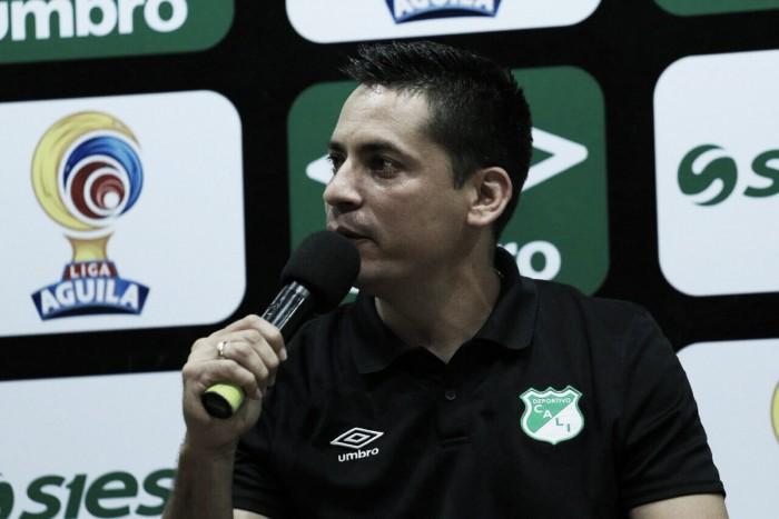 """Héctor Cárdenas: """"Lo cedido de local nos toca recuperarlo de visitante"""""""
