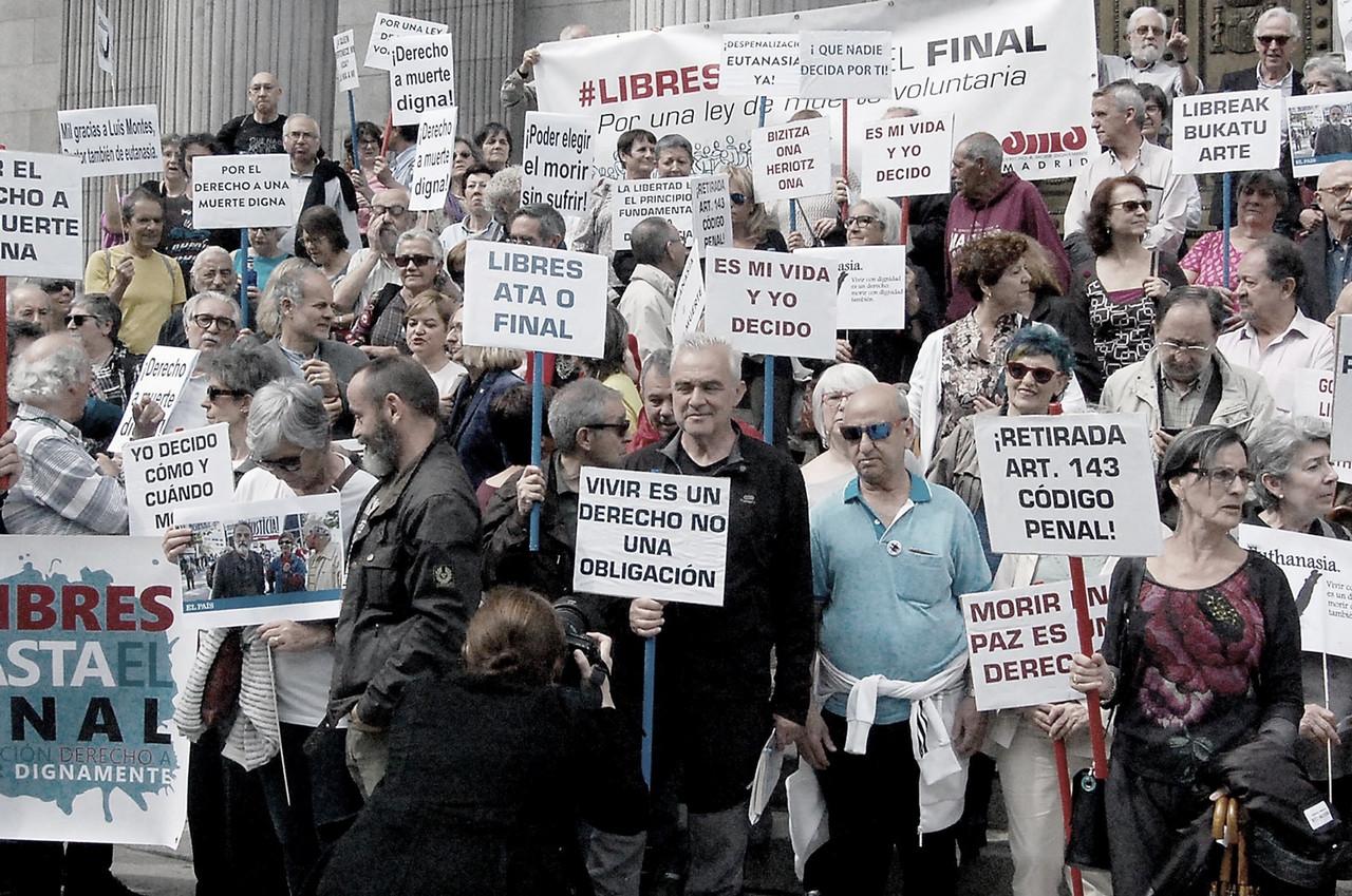 El caso de María José y Ángel hace que la eutanasia entre en campaña