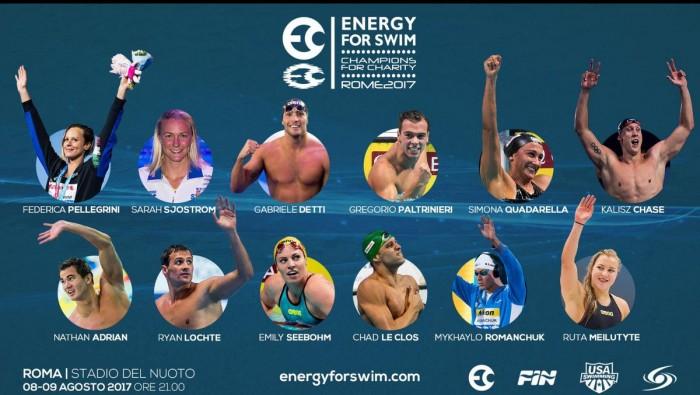 Energy for Swim: Carlton Myers in vasca a Roma