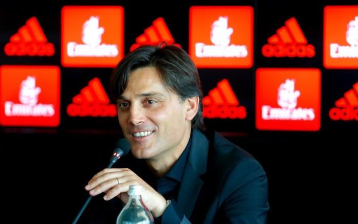 """Milan, Montella in conferenza: """"Attaccante? Stiamo valutando con massima attenzione"""""""