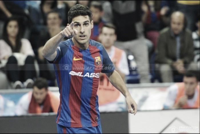 """Entrevista a Adolfo (Barça Lassa): """"Espero estar en el Barça mucho tiempo"""""""