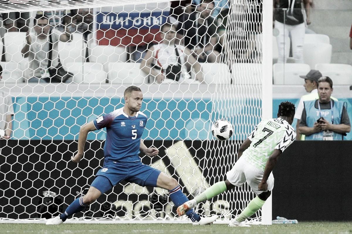 Derrota de Islandia ante Nigeria y ahora a pedir de boca de los argentinos