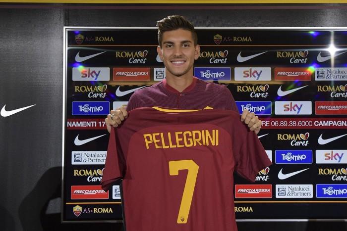 Roma, si presenta Pellegrini