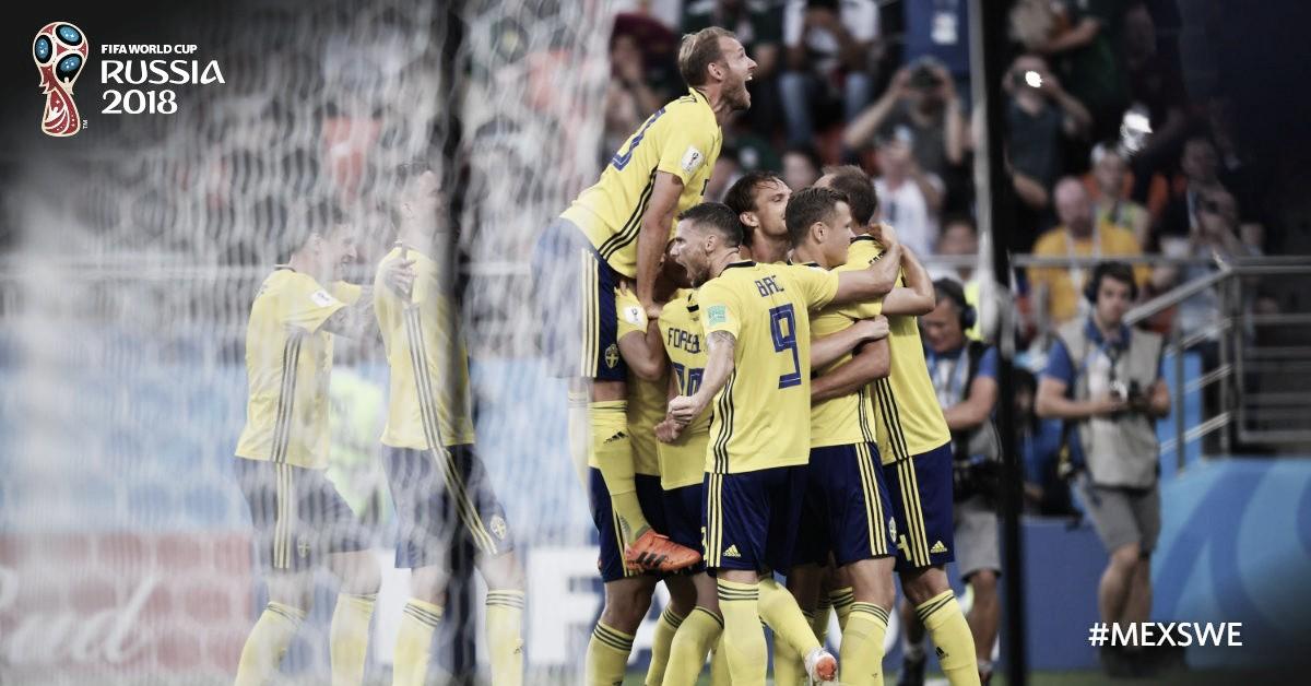 Russia 2018: la Svezia passa da prima, 3-0 al Messico che si qualifica secondo; Germania fuori