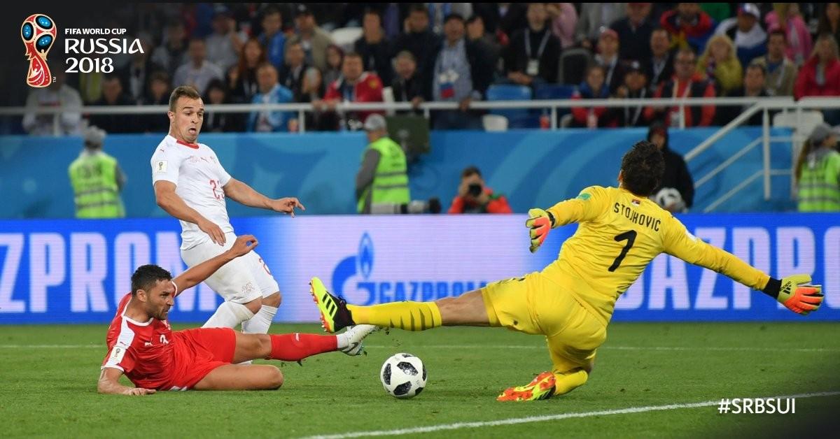 Russia 2018 - La Svizzera trema, poi la stanchezza e Stojkovic abbattono la Serbia (1-2)