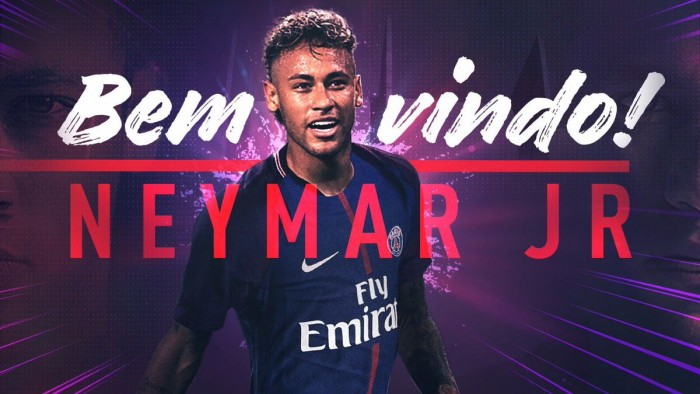 Resultado de imagem para Coletiva de apresentãção do Neymar ao PSG,