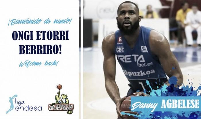 Danny Agbelese regresa al Gipuzkoa Basket