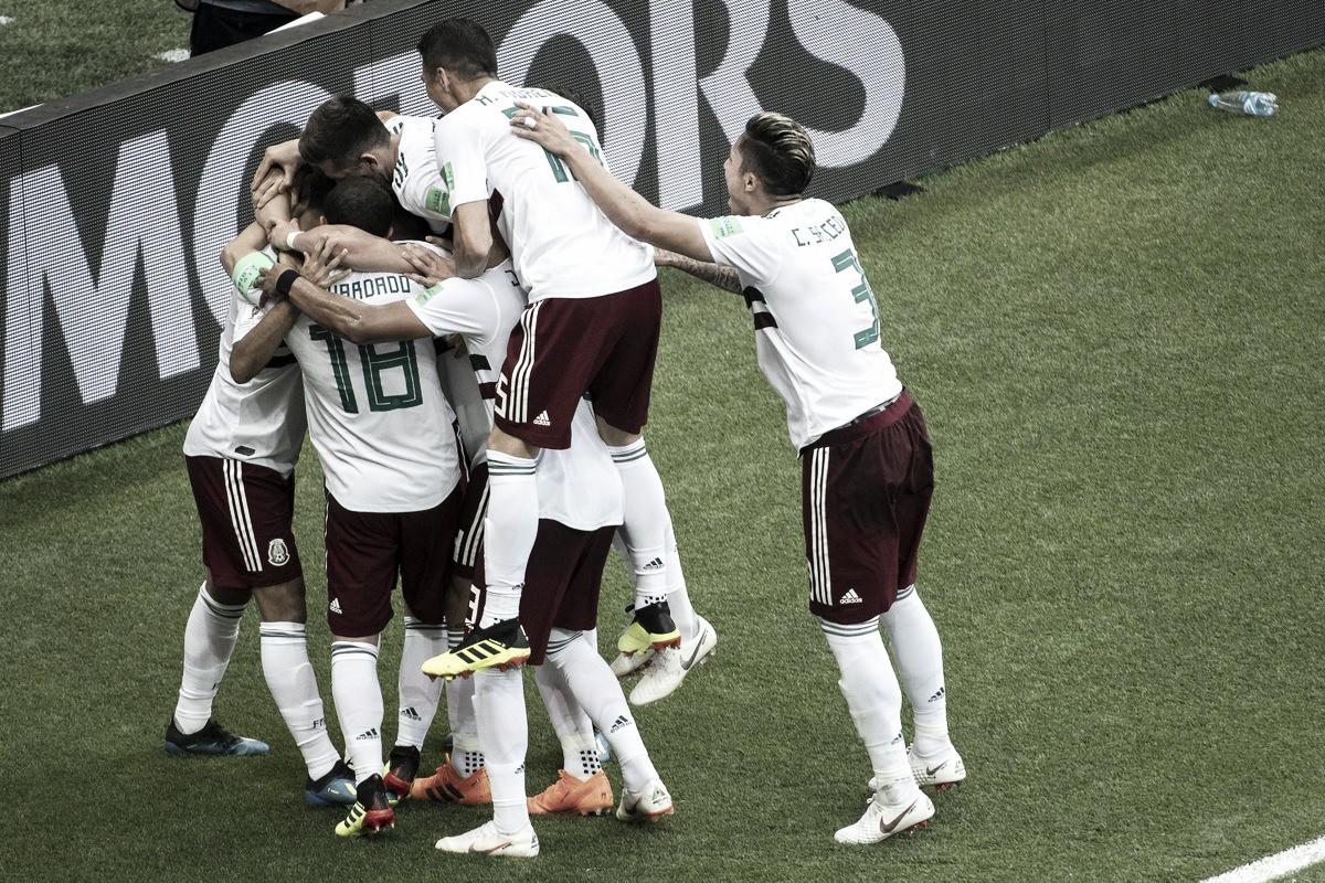 Russia 2018: il Messico batte anche la Corea del Sud, 2-1 alla Rostov Arena