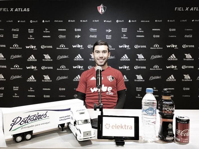 """Juan Pablo Vigón: """"Agradecido con la confianza que me dio el Profe"""""""