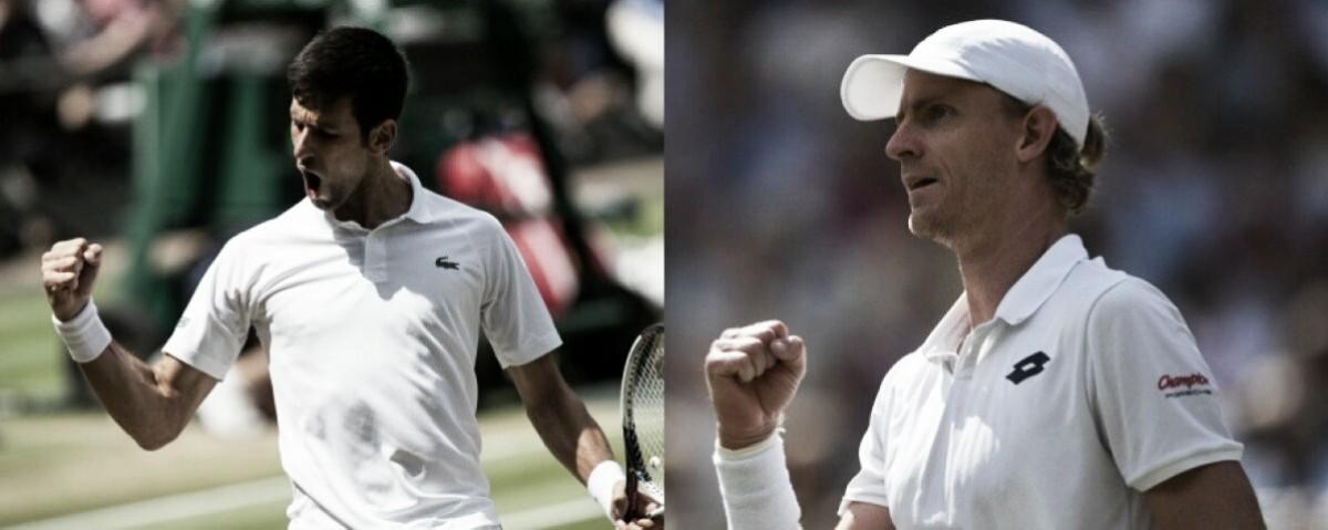 Djokovic y Anderson, los primeros semifinalistas