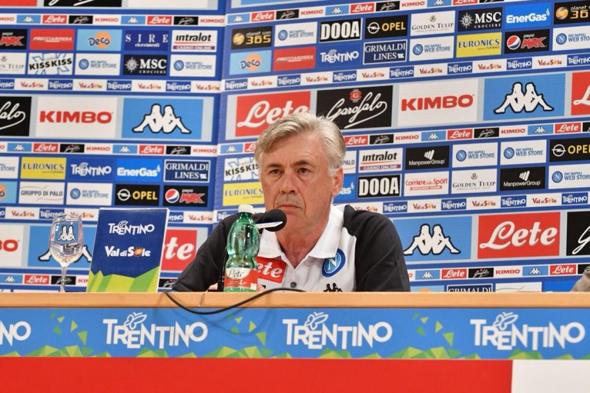 """Napoli - Ancelotti: """"Una sfida entusiasmante, l'arrivo di Ronaldo uno stimolo per tutti noi"""""""