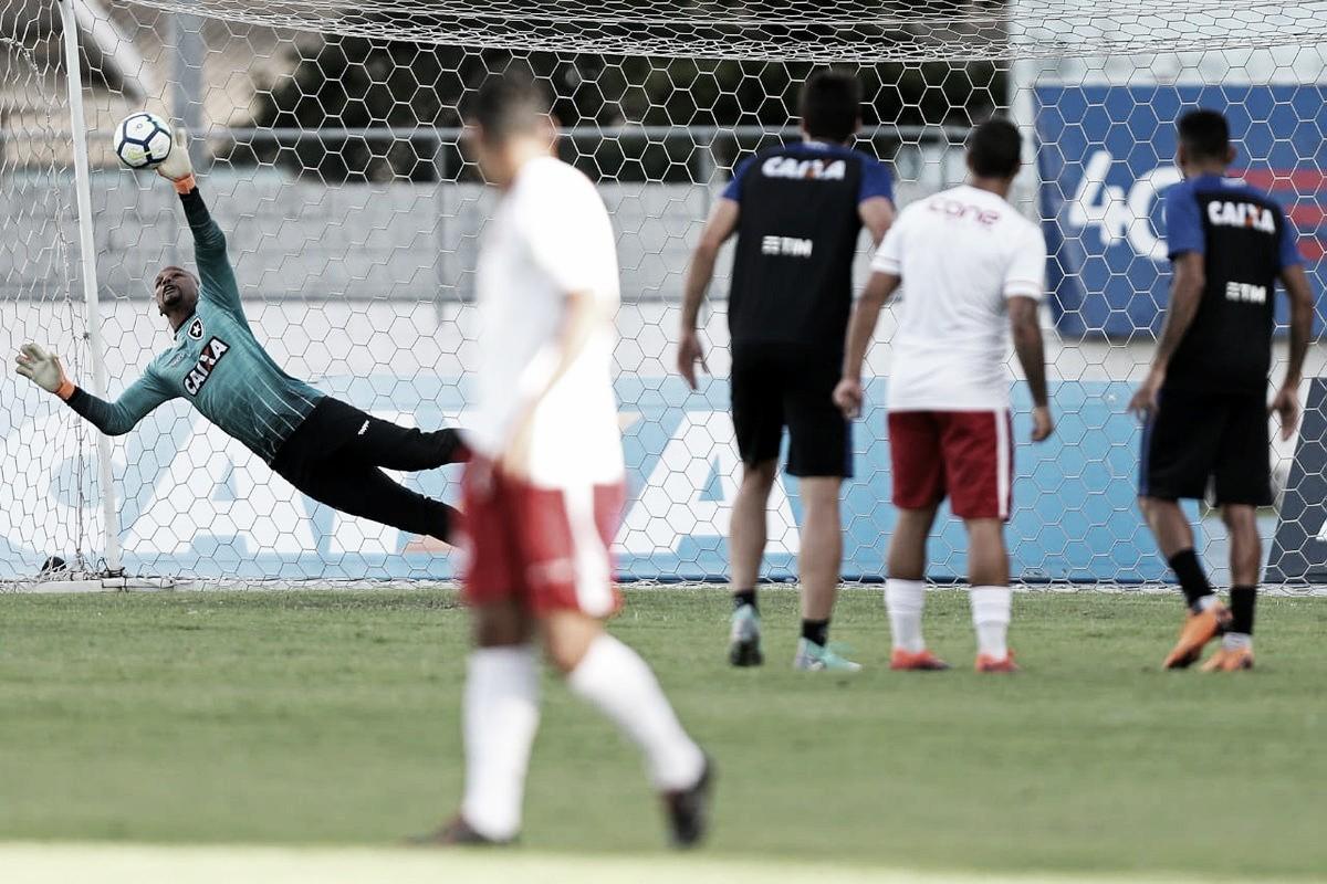 Botafogo vence América-RJ em jogo-treino no Nilton Santos