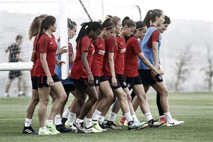 Las campeonas de Europa se reincorporaron al equipo en San Rafael