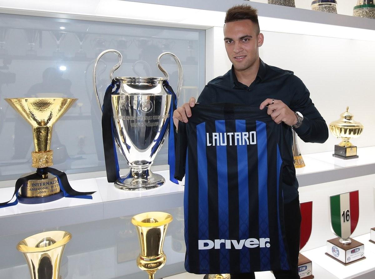 """Inter - Lautaro si presenta: """"Voglio imitare le gesta di Milito"""""""