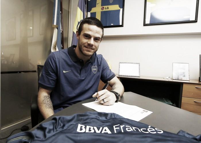 """Nahitan Nández: """"Es un orgullo ser jugador de Boca"""""""