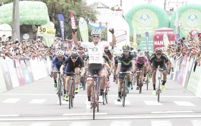 Nelson Soto volvió a repetir victoria en la etapa 11 de la Vuelta a Colombia