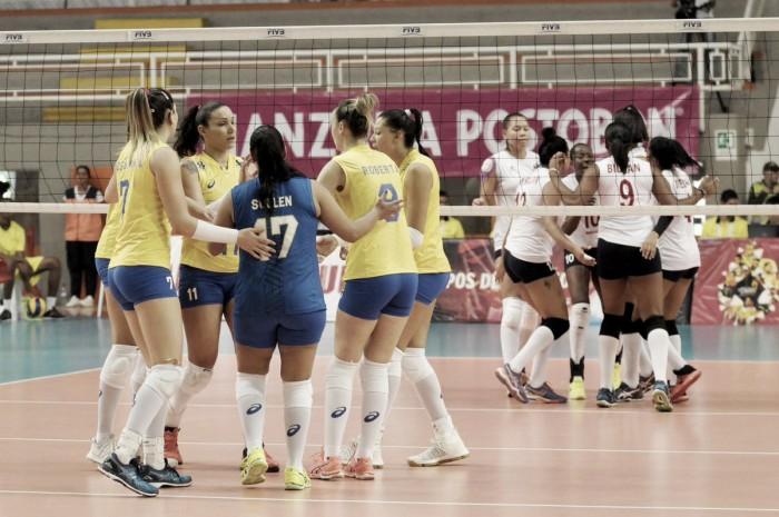 Brasil passa fácil por Venezuela e consegue segunda vitória no Sul-Americano de Vôlei