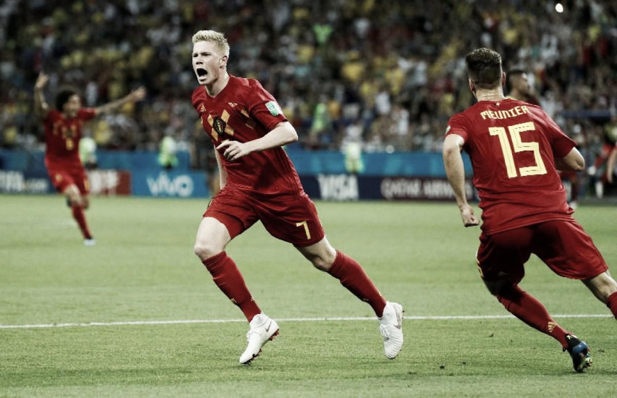 Una rebelde Bélgica despide a Brasil del Mundial