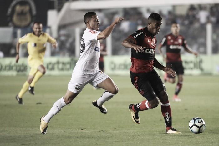 Flamengo perde para Santos de virada, mas avança às semifinais da Copa do Brasil