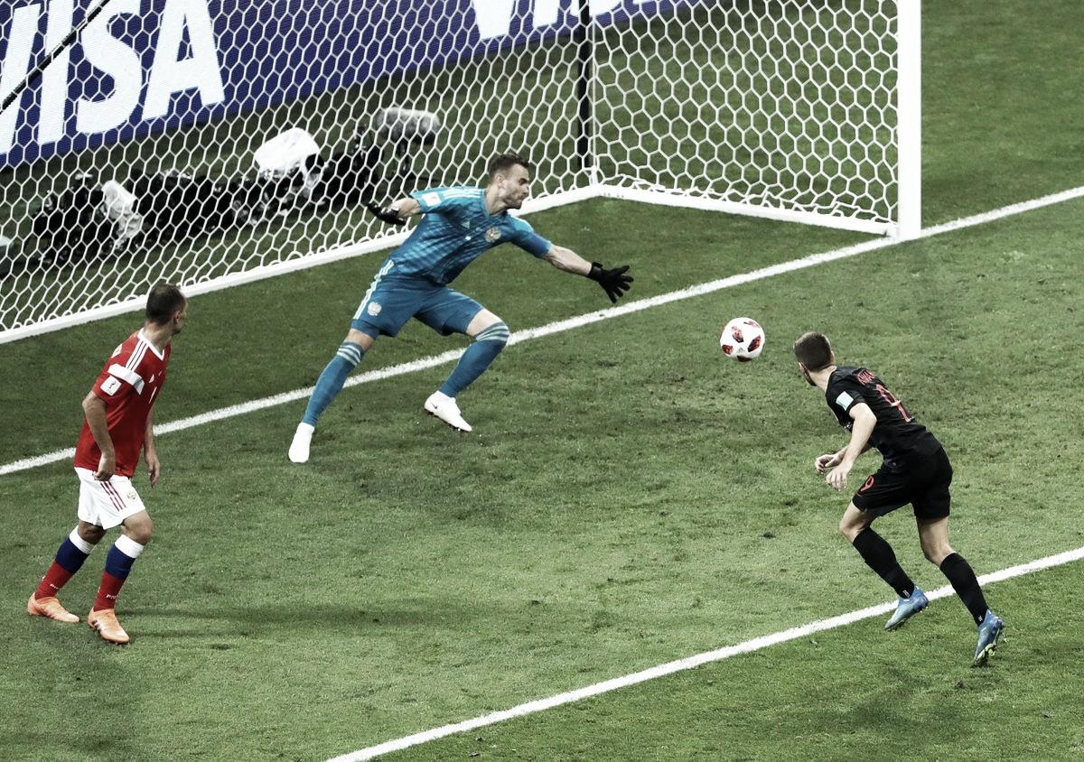 Russia 2018: Croazia in semifinale ai rigori. Russia fuori a testa alta (2-2) (4-3, c.d.r.)