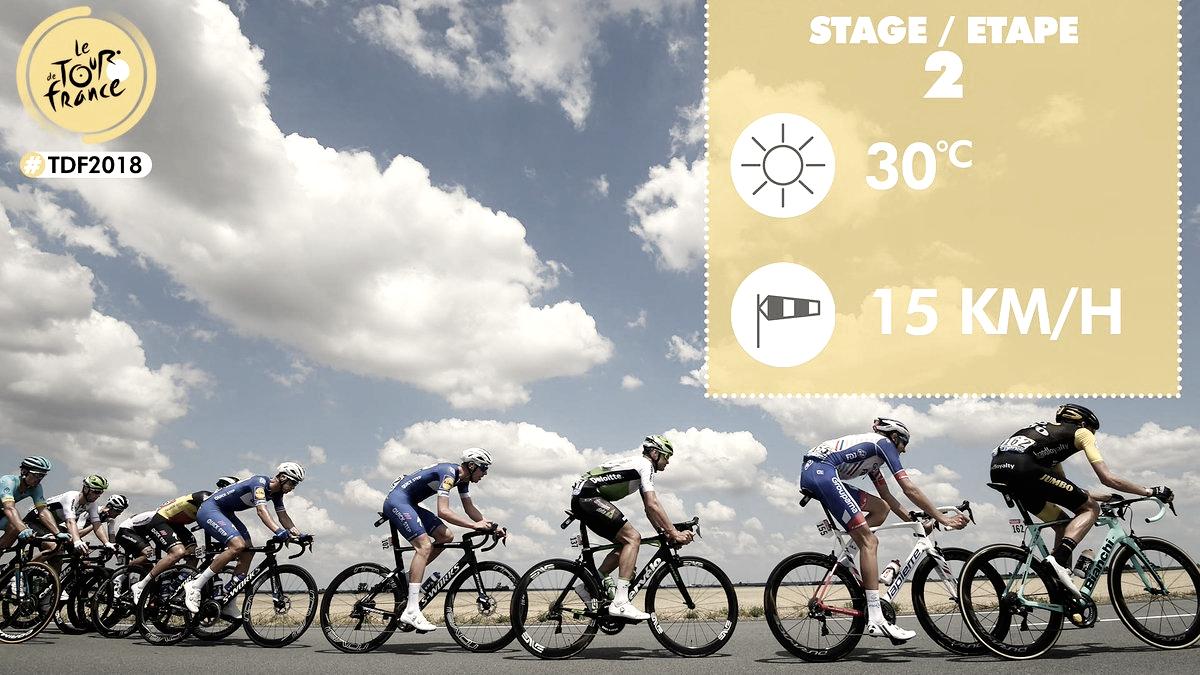 Resumen Etapa 2 del Tour de Francia: Sagan vence en medio del caos