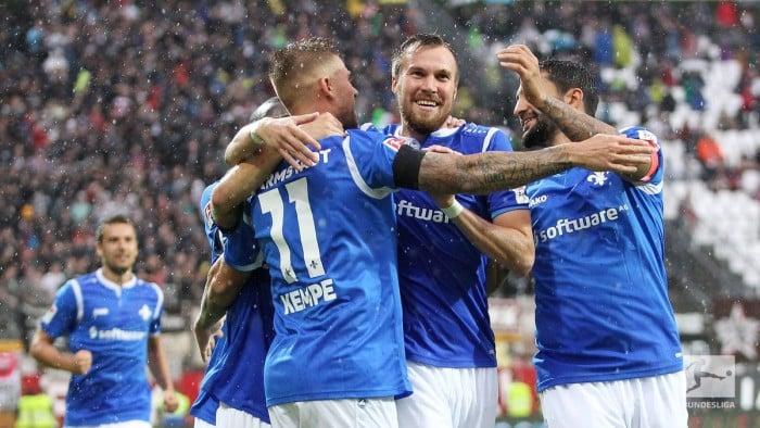 SV Darmstadt 98 3-0 FC St. Pauli: Kevin Großkreutz scores as Lillies dismantle Kiezkicker